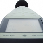 medición acústica