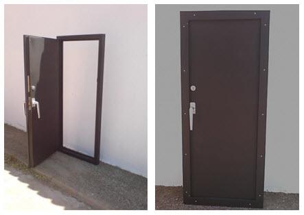 Tipos de puertas ac sticas de madera marco abierto cerrado for Tipos de puertas de madera